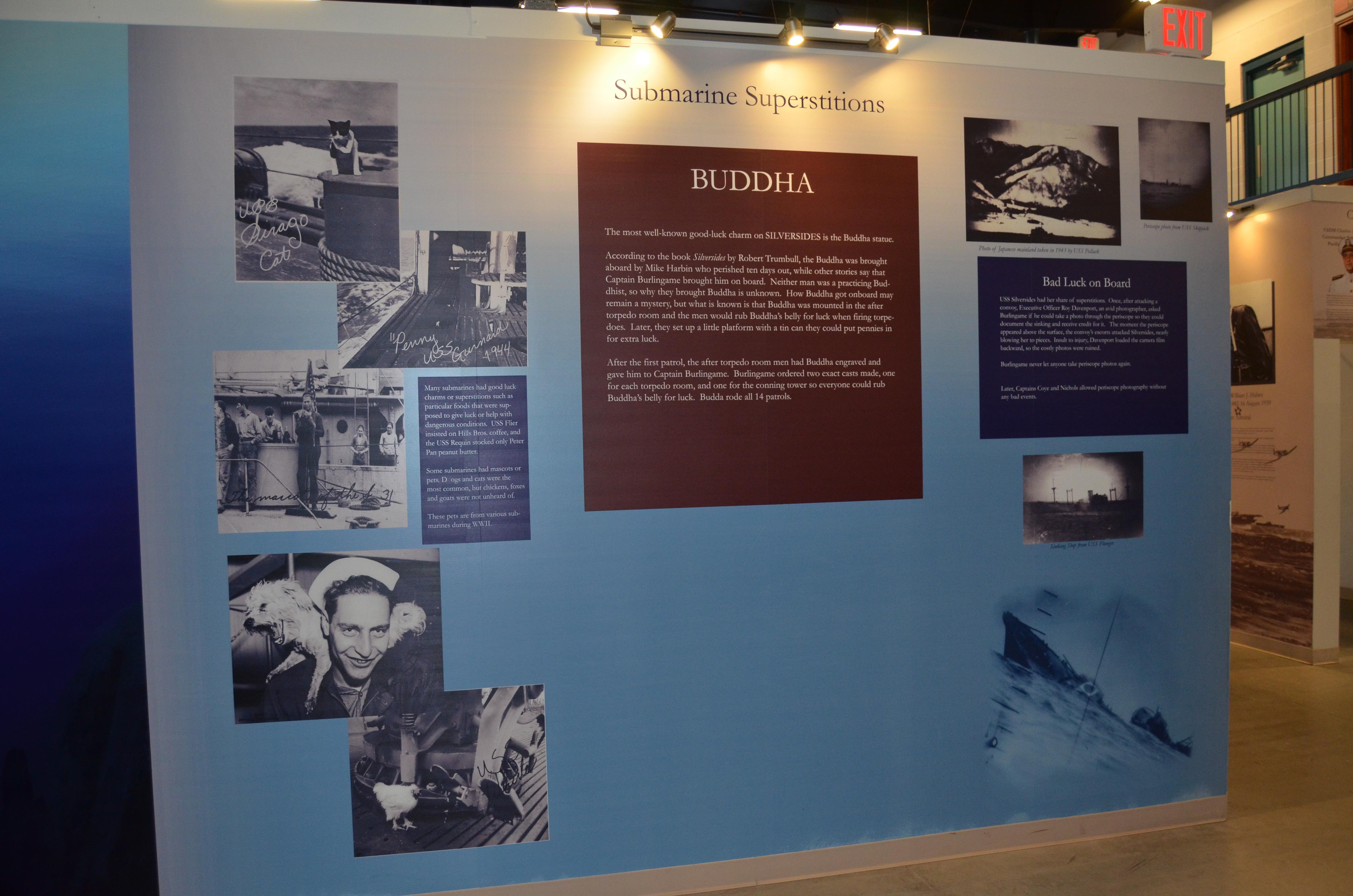 USS Silversides Submarine Museum Buddha Superstitions