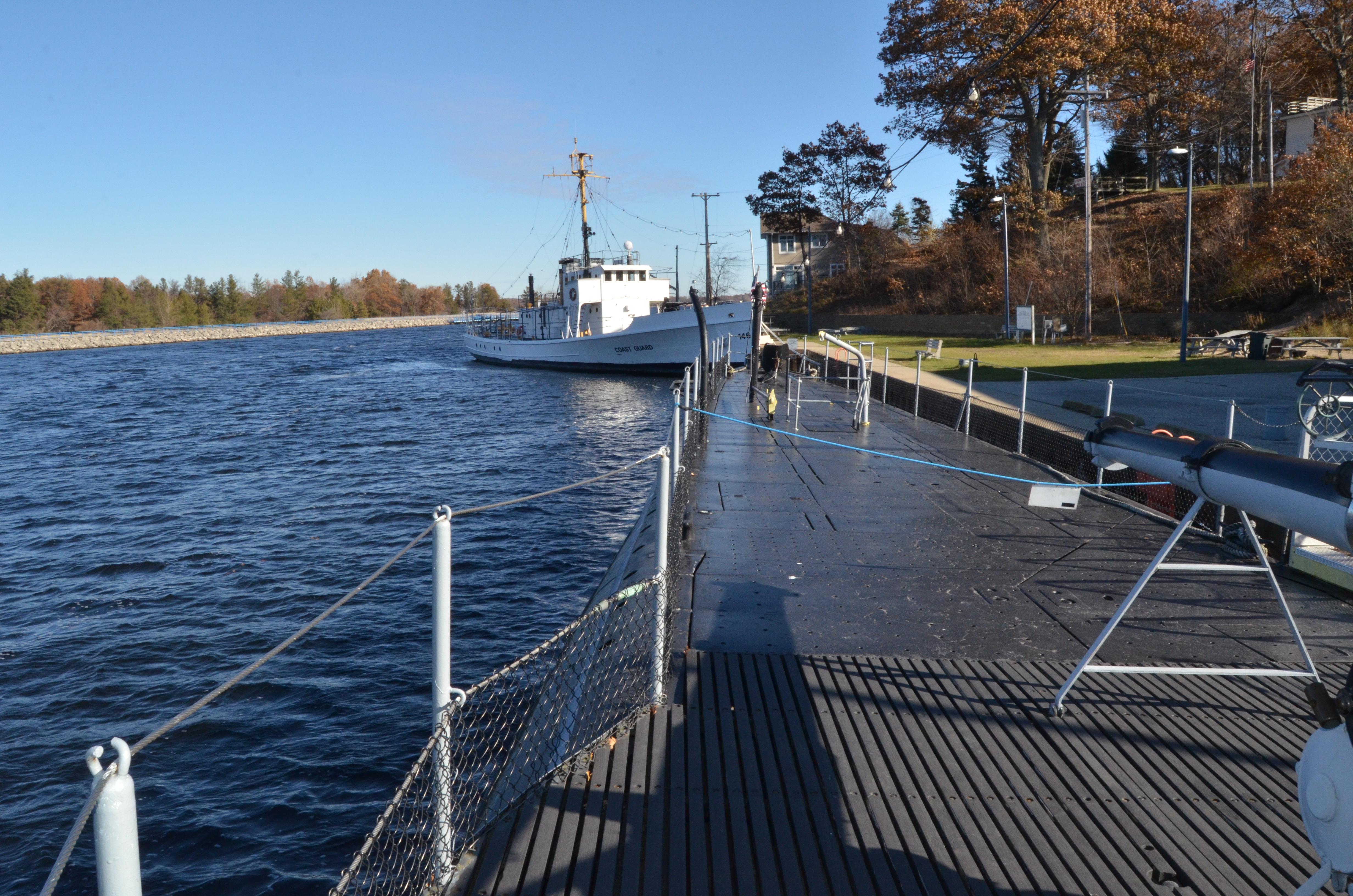 USS Silversides Submarine Museum Deck View McLane