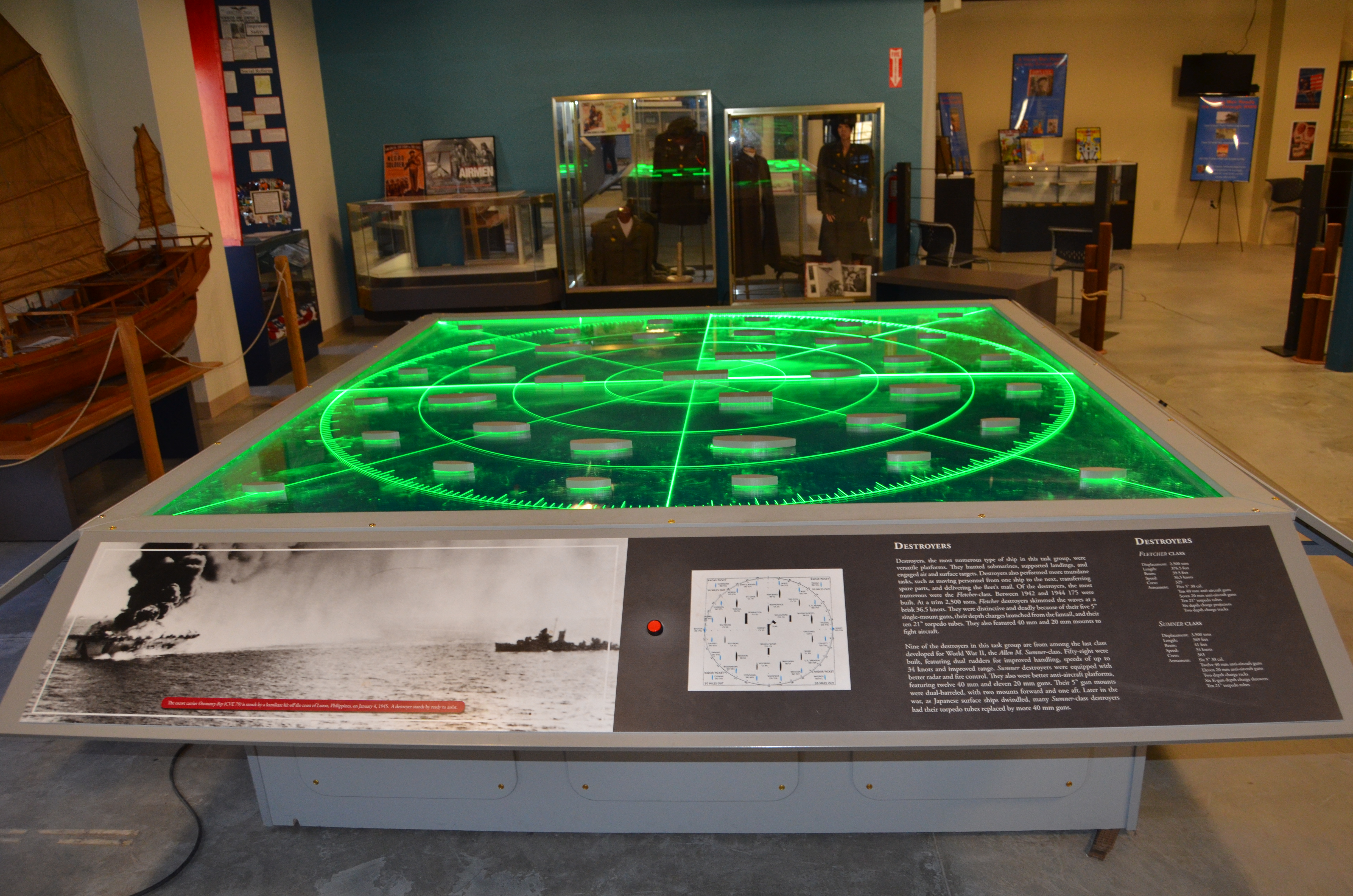 USS Silversides Submarine Museum Interactive Ship Display