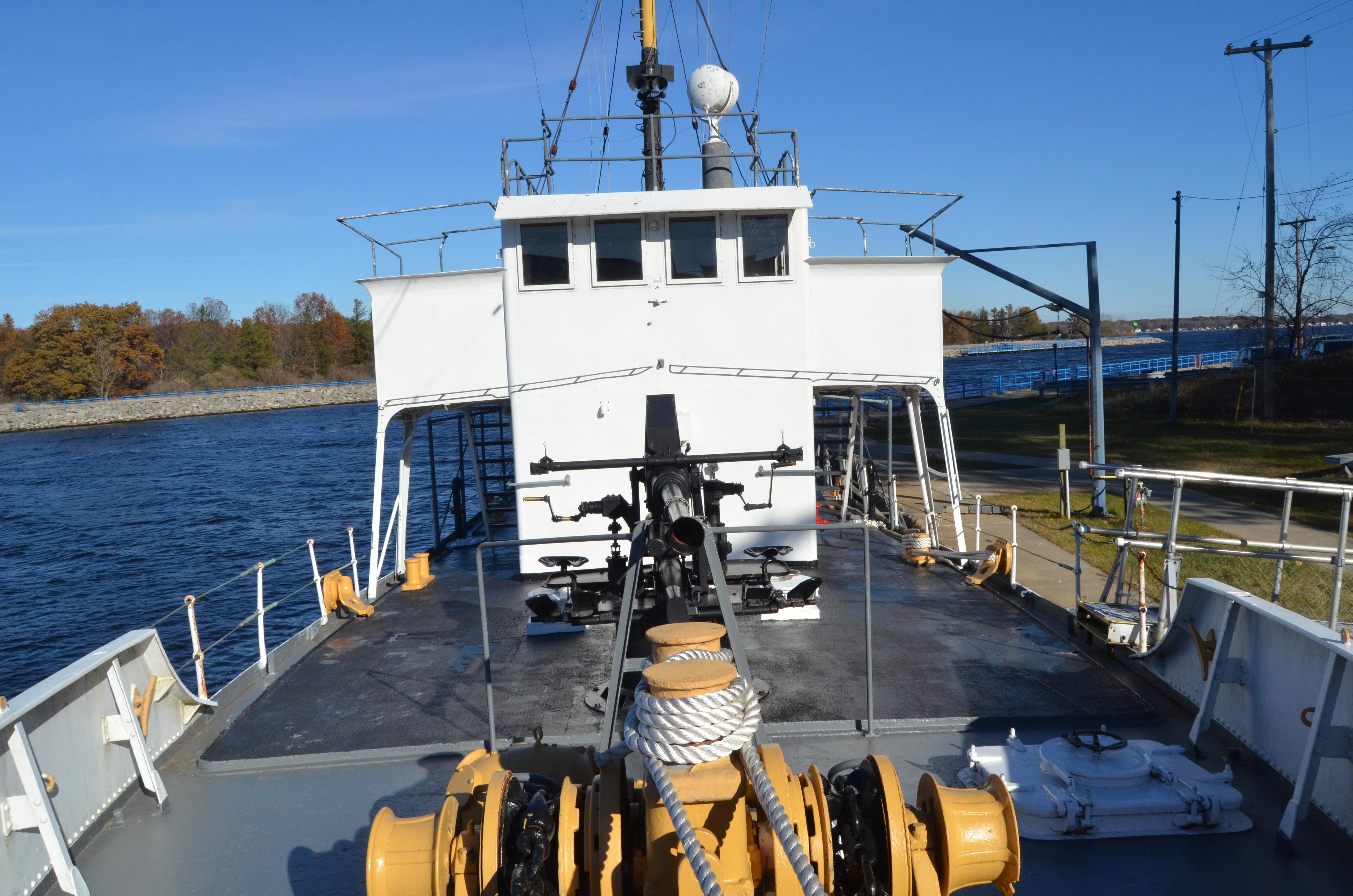 USS Silversides Submarine Museum McLane Top Deck
