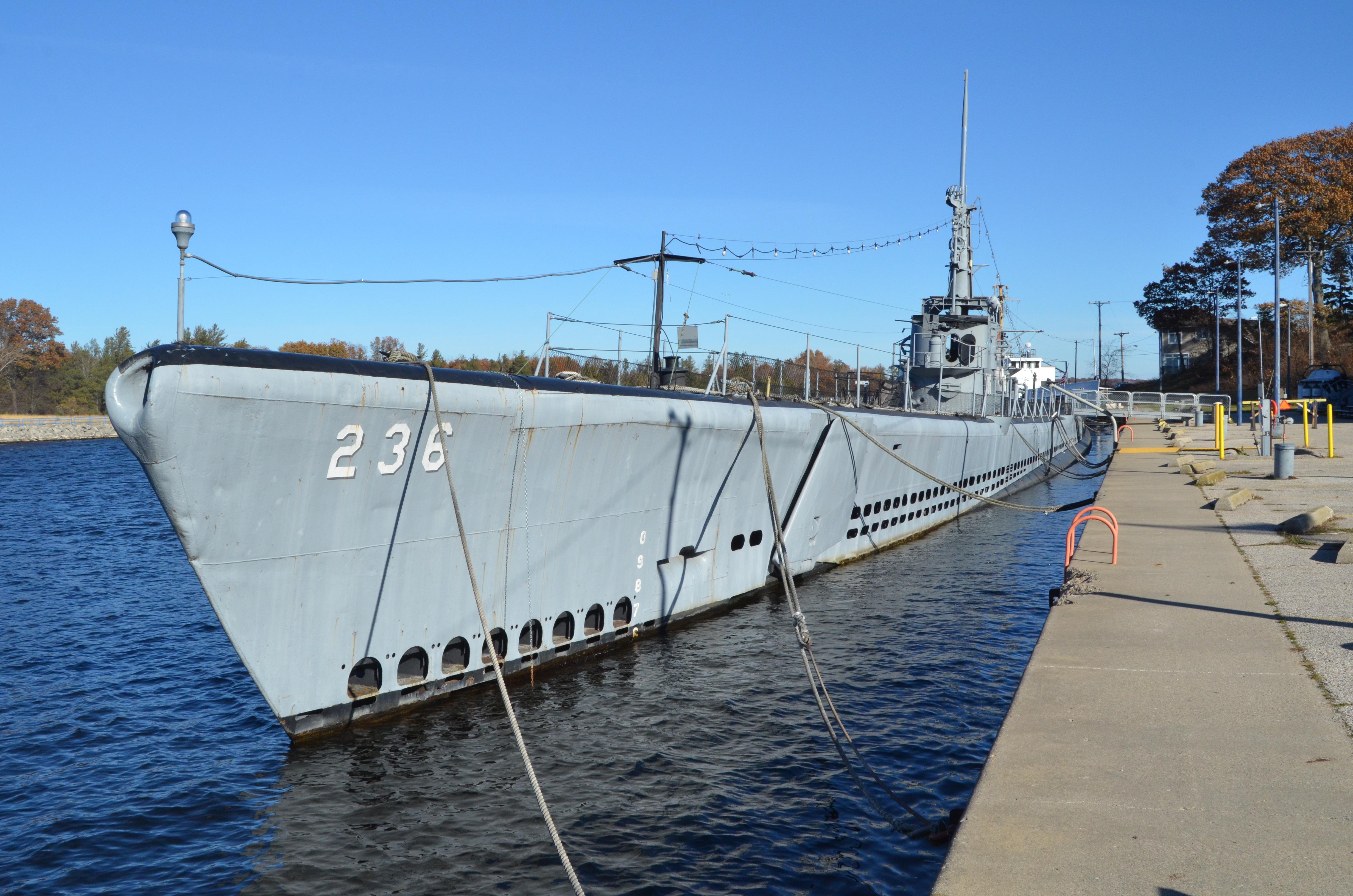 USS Silversides Submarine Museum Muskegon Channel