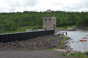 Victoria Dam Roadside Attractions Michigan Ontonagon