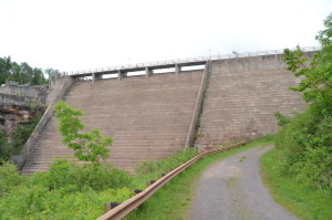 Victoria Dam Side View Michigan Ontonagon
