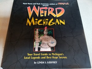 Weird Michigan Book