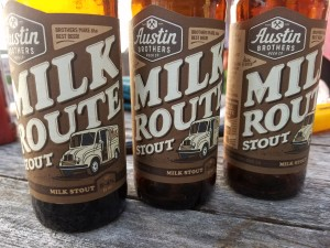 Austin Brothers Beer Company Milk Route Stout