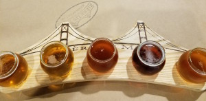 Biere De Mac Brew Works Flight Board