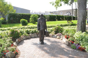 Ernest Hemingway Statue Petoskey Michigan
