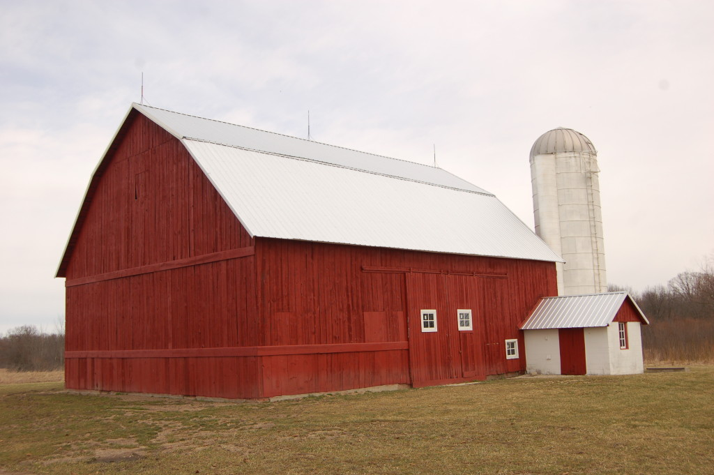 Fillmore barn restoration at Grand Ravines Park (South) in Jenison