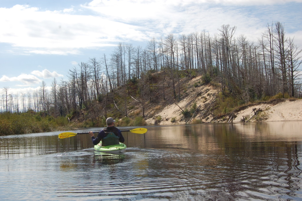 Kayaking the Two Hearted River