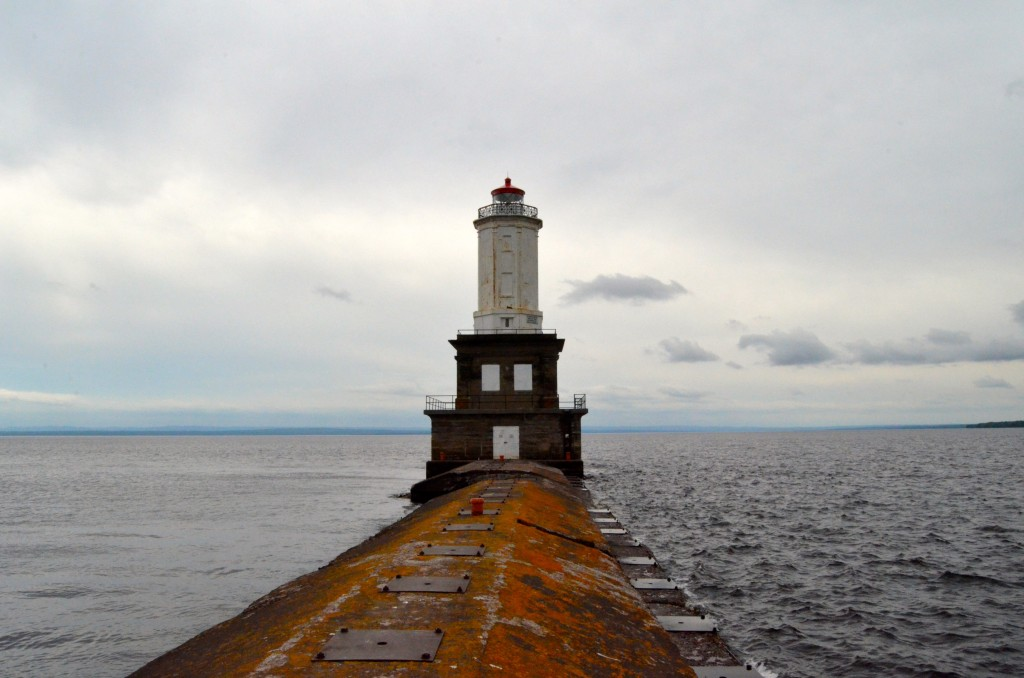 Keweenaw Waterway Lower Entrance Light