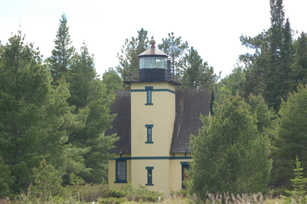 Mendota (Bete Grise) Lighthouse, Keweenaw Peninsula