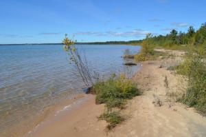 Northermost Point of Lake Michigan Naubinway Rest Area