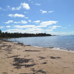 Michigan Roadside Attractions: Northernmost Point of Lake Michigan