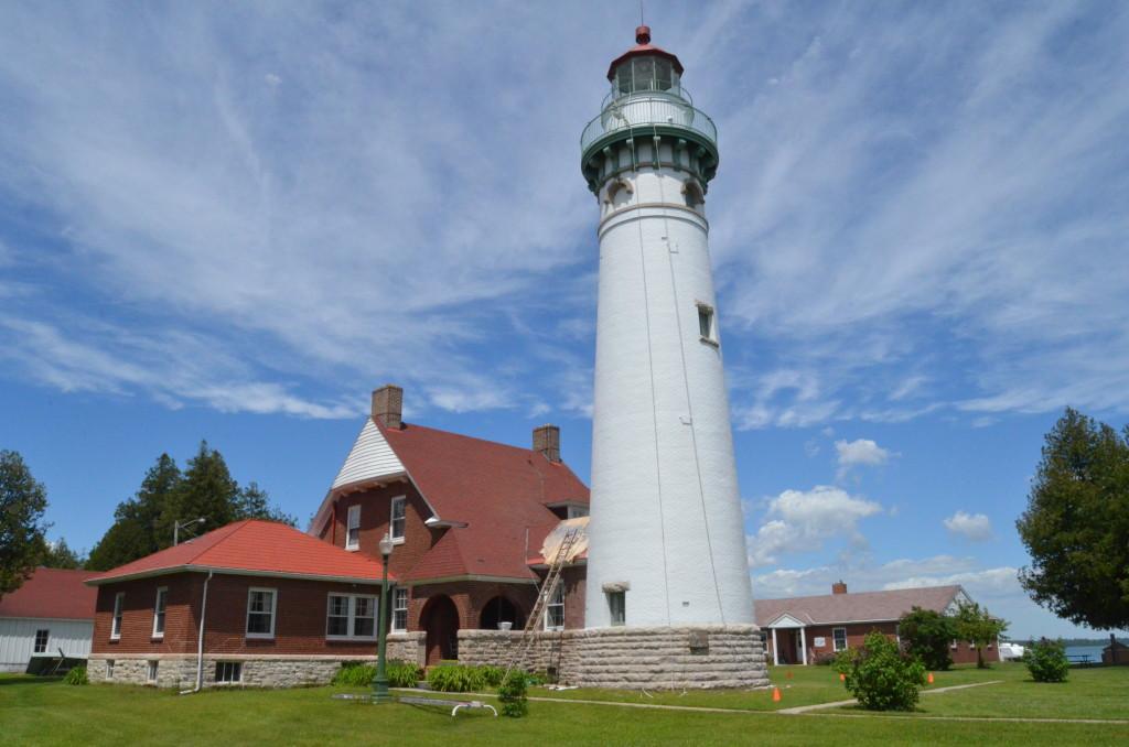 Seul Choix Lighthouse near Gulliver