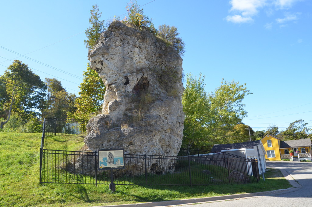 St. Anthony's Rock in St. ignace
