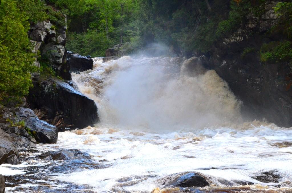 Sturgeon Falls near Baraga