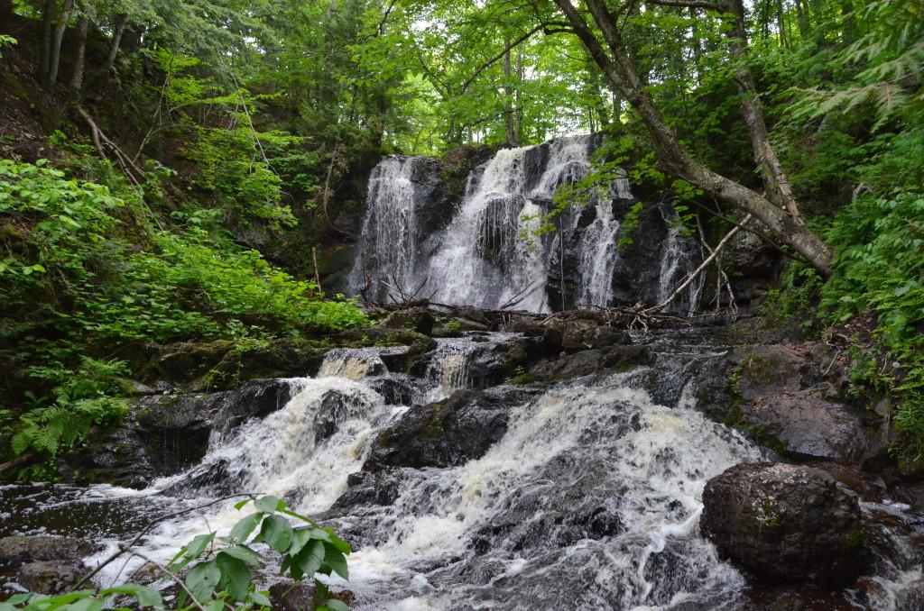 Upper Hungarian Falls near Hancock