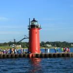 South Haven Lighthouse, Lake Michigan