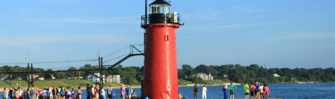 South Haven Lighthouse, Lake Michigan