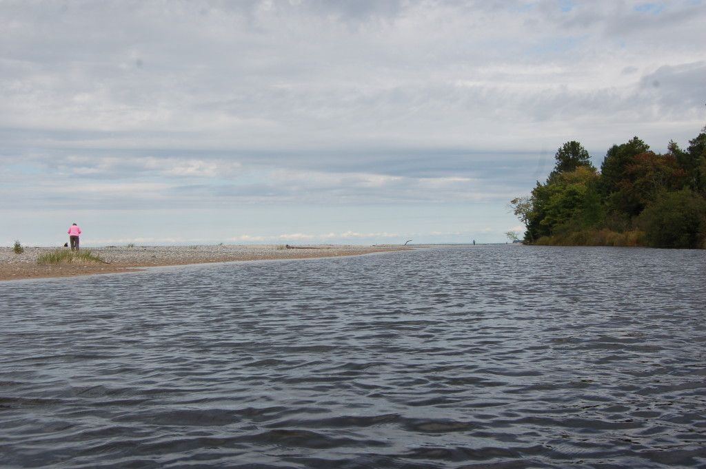 Two Hearted River Kayak Beach at Rivermouth