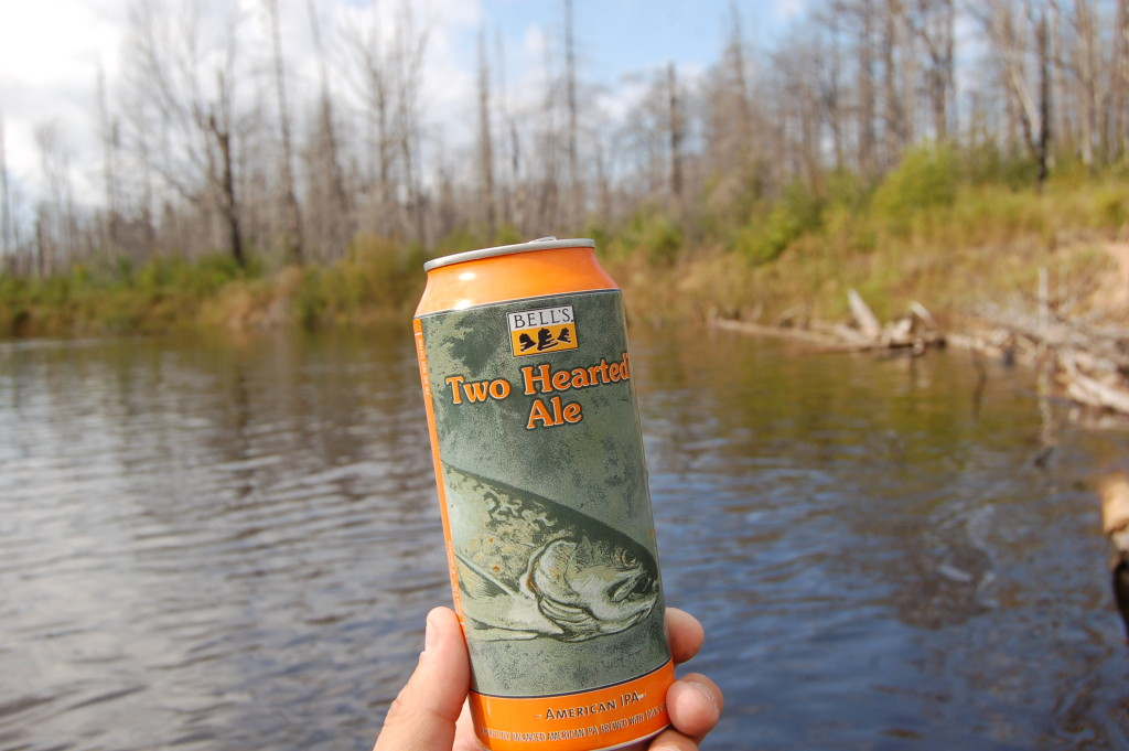 Two Hearted River Kayak Bell's Brewery Michigan
