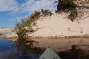 Two Hearted River Kayak Trip Dune View