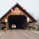 Michigan Roadside Attractions: Holz Brucke (Wooden Bridge), Frankenmuth
