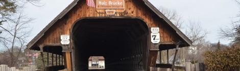 Michigan Roadside Attractions: Holz Brucke (Wooden Bridge), Frankenmuth