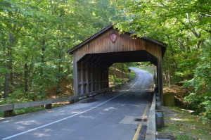 Pierce Stocking Scenic Drive Covered Bridge 1