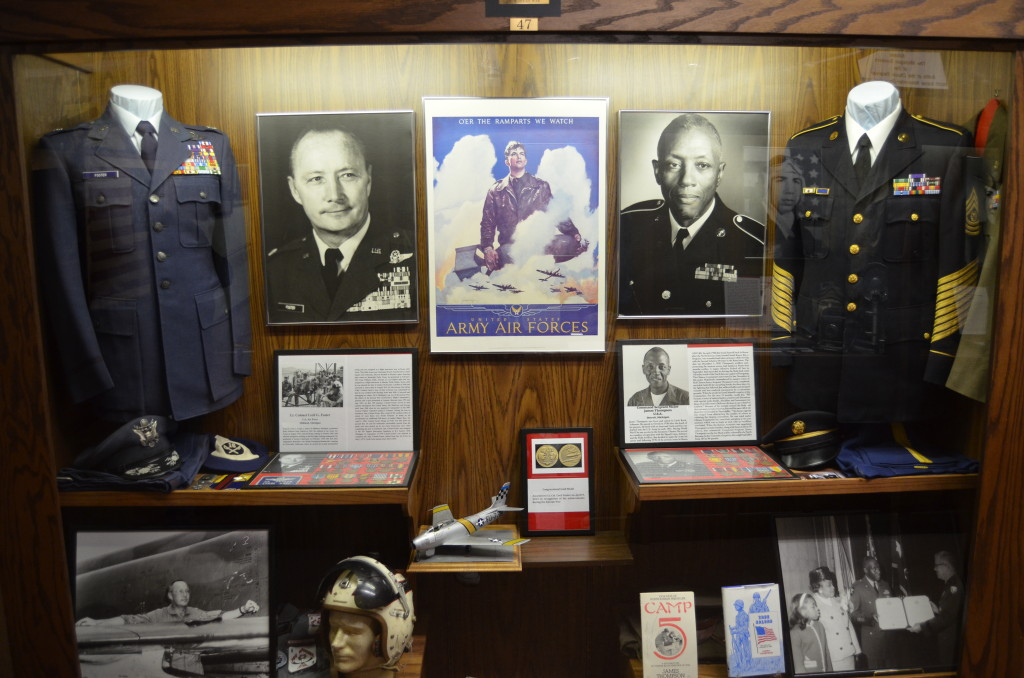 Michigan's Own Military and Space Heroes Museum Cecil Foster James Thompson
