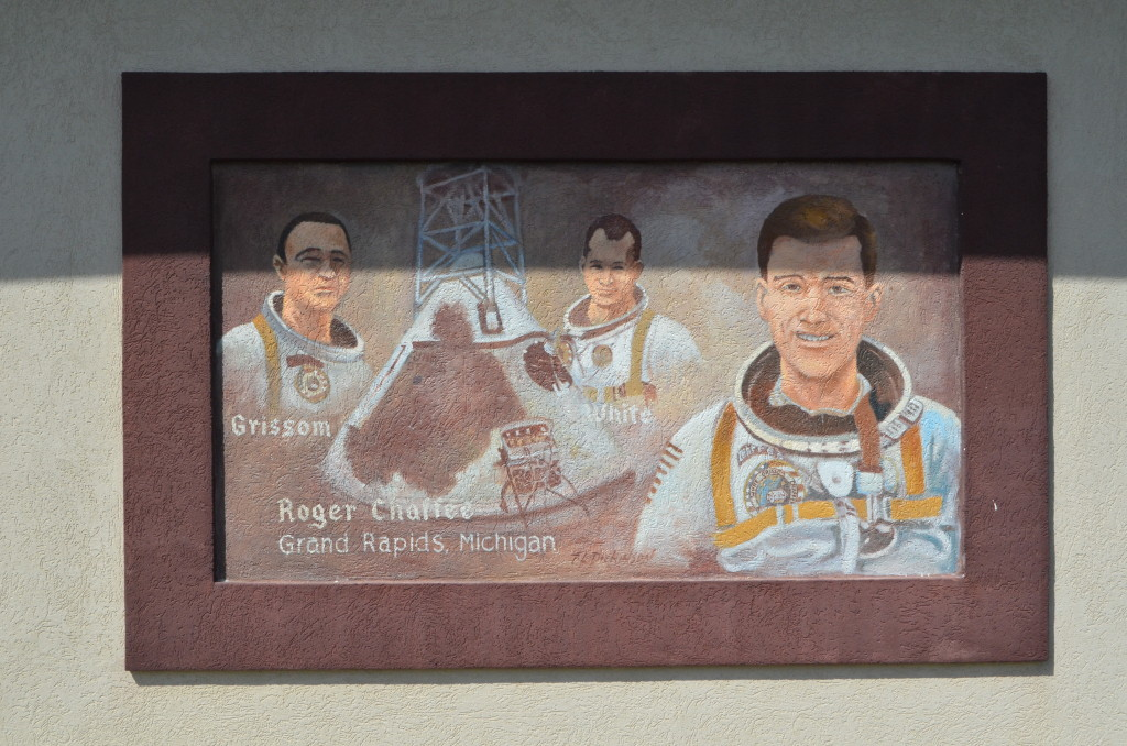 Michigan's Own Military and Space Heroes Museum Chaffee Mural