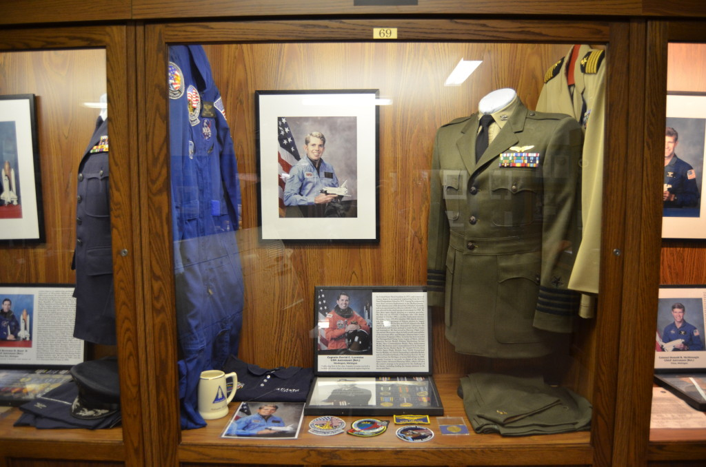 Michigan's Own Military and Space Heroes Museum David Leestma Astronaut
