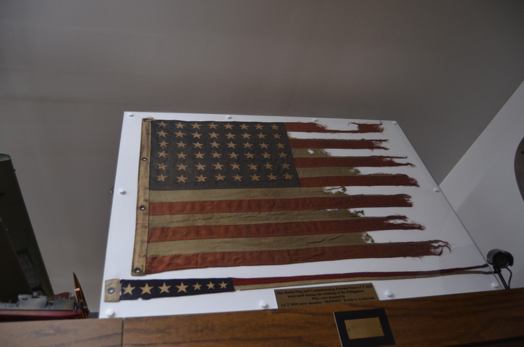 Michigan's Own Military and Space Heroes Museum Flag Philippines