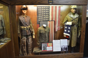 Michigan's Own Military and Space Heroes Museum Flags Polar Bears