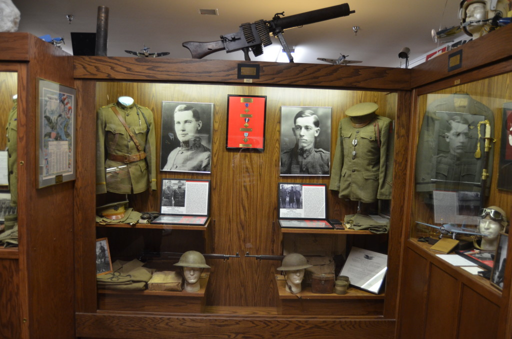 Michigan's Own Military and Space Heroes Museum Frankenmuth War Exhibit