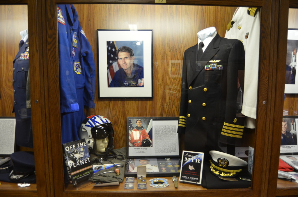 Michigan's Own Military and Space Heroes Museum J.M. Linenger Astronaut