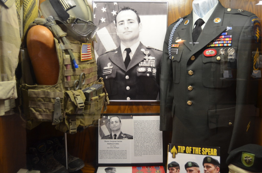 Michigan's Own Military and Space Heroes Museum Jarion Halbisen-Gibbs