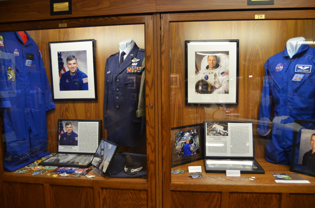 Michigan's Own Military and Space Heroes Museum Johnson and Fesutel Astronauts
