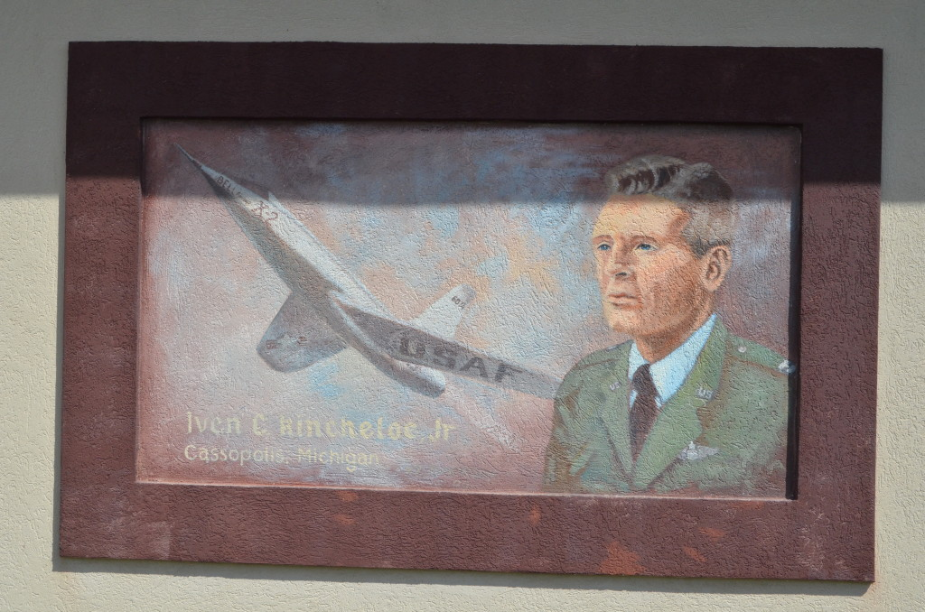 Michigan's Own Military and Space Heroes Museum Kincheloe Mural