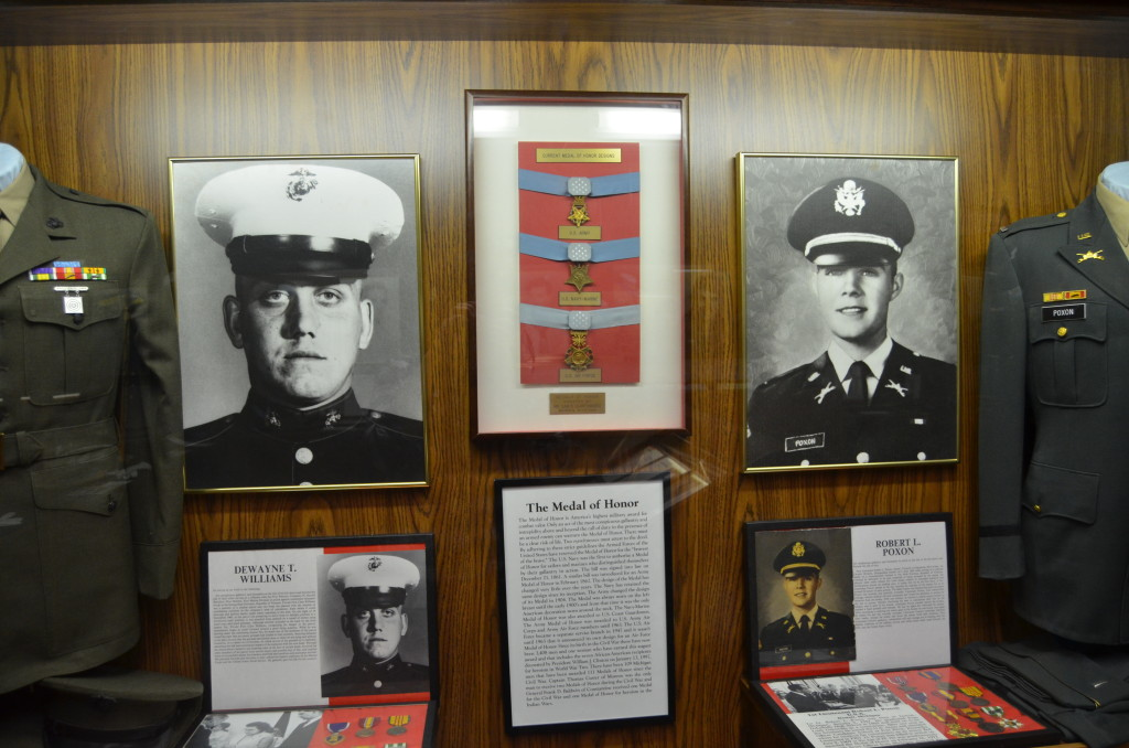 Michigan's Own Military and Space Heroes Museum Medal of Honor Exhibit