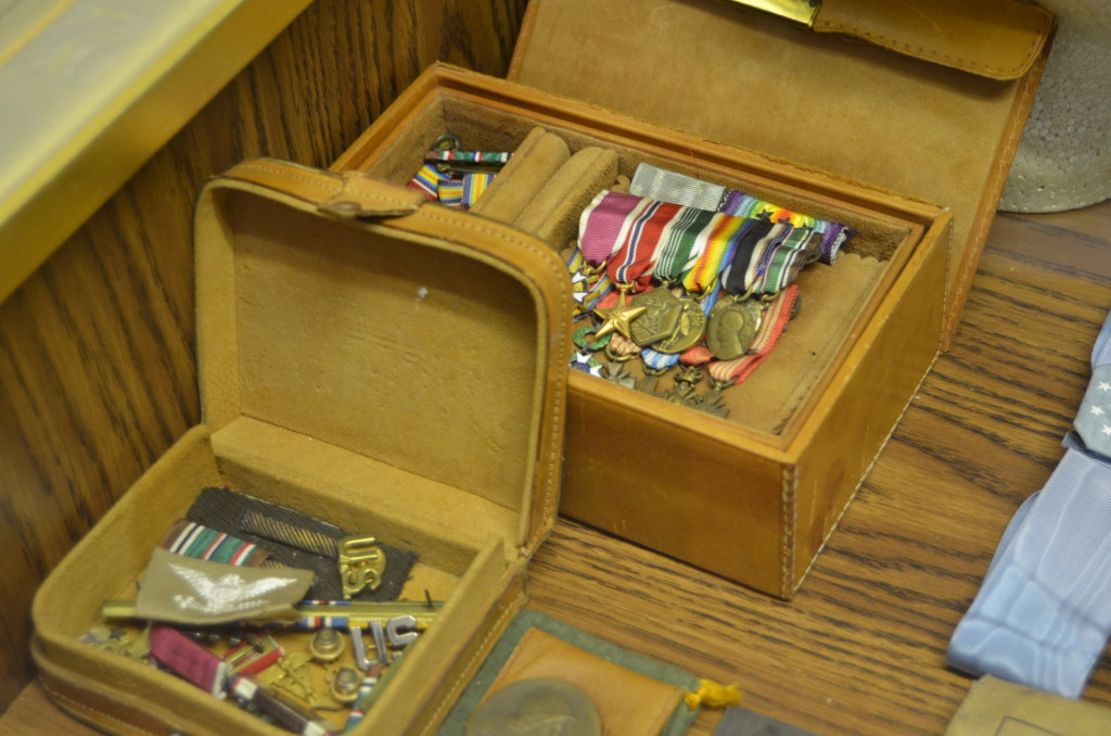 Michigan's Own Military and Space Heroes Museum Medals Chest