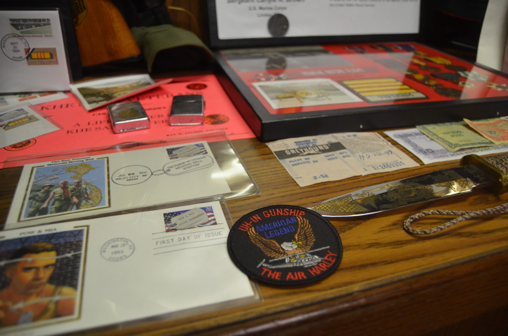 Michigan's Own Military and Space Heroes Museum Postcards and Mementos