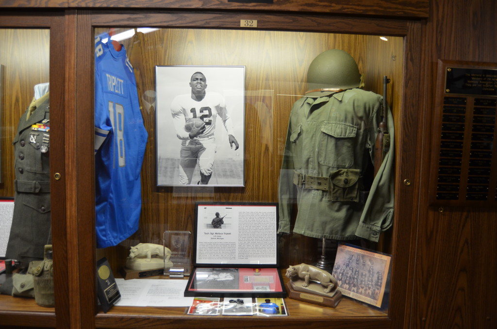 Michigan's Own Military and Space Heroes Museum Sgt. Wallace Triplett