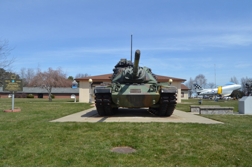 Michigan's Own Military and Space Heroes Museum Tank