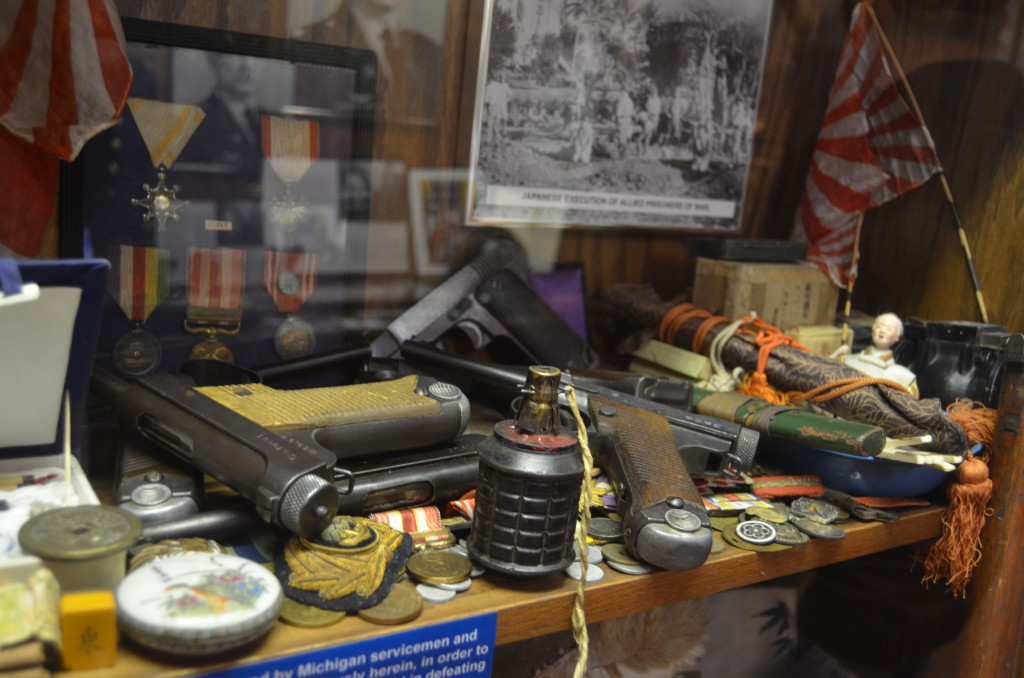 Michigan's Own Military and Space Heroes Museum War Artifacts