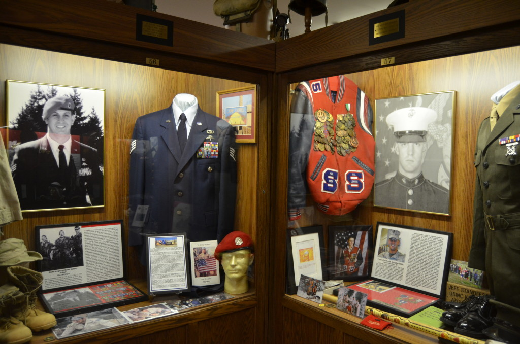 Michigan's Own Military and Space Heroes Museum War on Terror Exhibit Wing