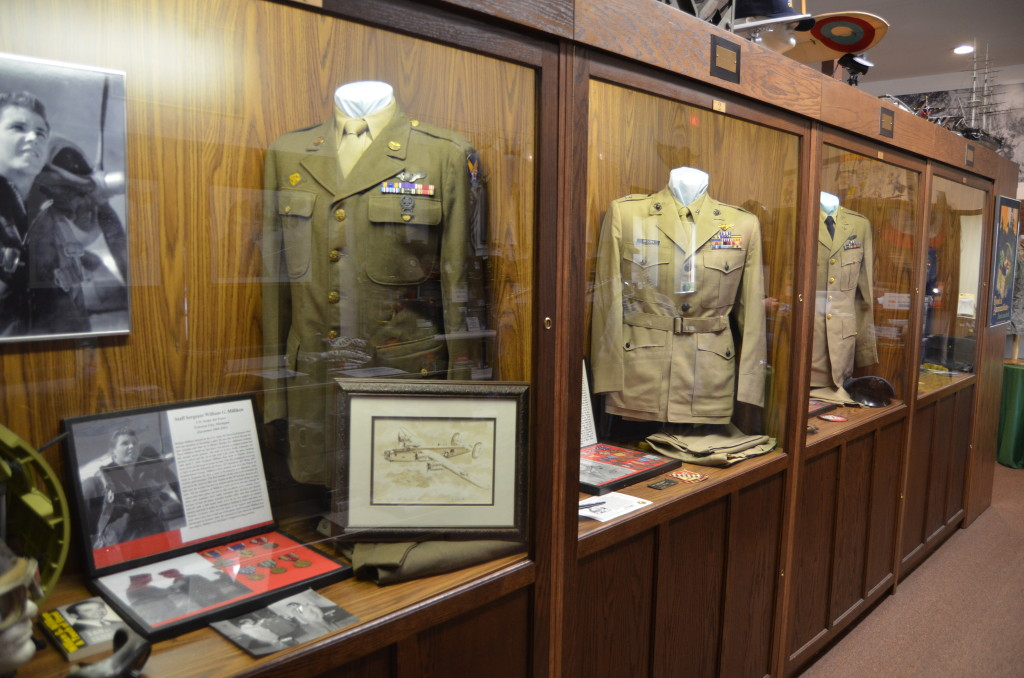 Michigan's Own Military and Space Museum First Display Case