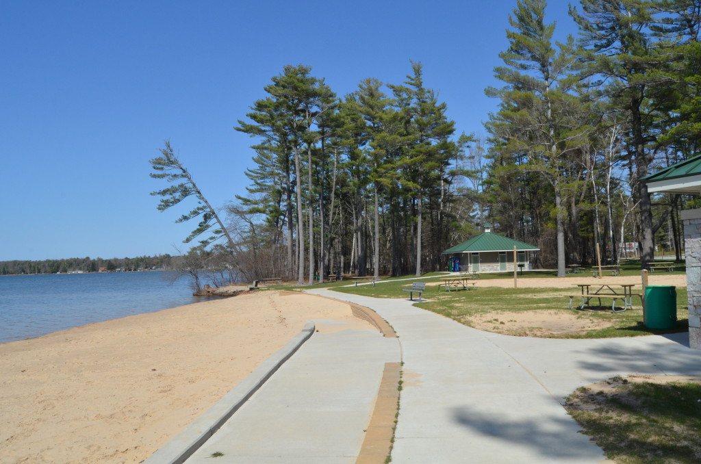 Silver Lake State Park Day Use Area Michigan