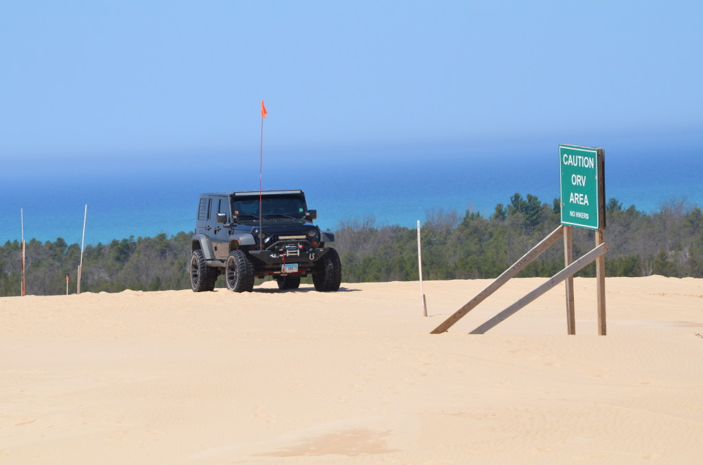 Silver Lake State Park Dune ORV Area Jeep