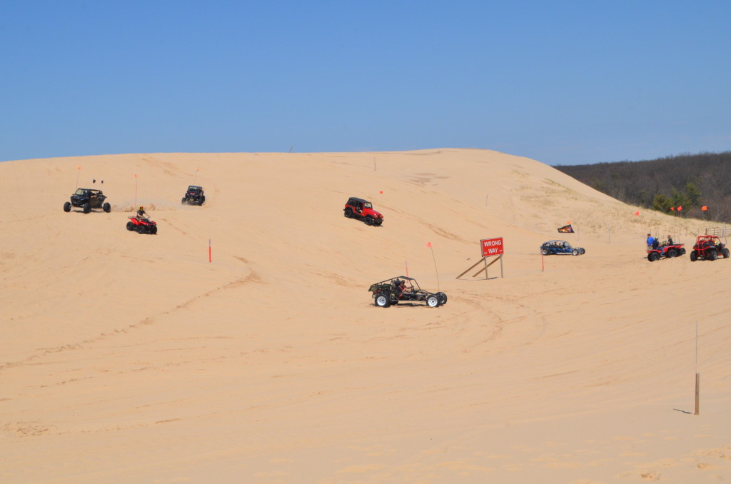 Silver Lake State Park Dune ORV Area Vehicles
